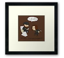 Game Grumps - Life Backup Framed Print