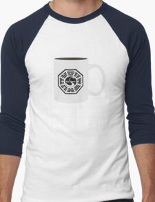 """""""Don't tell me what I can't brew!"""" Dharma Initiative Coffee (Lost) Men's Baseball ¾ T-Shirt"""
