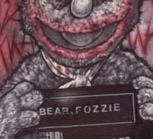 Fozzie Bear Joker Sticker