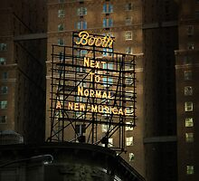 Broadway theatre signage, billboard at night by Reinvention