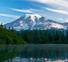 Mount Rainier National Park by printscapes