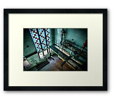 Magnificent industrial interior  Framed Print