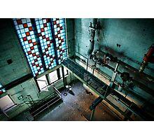 Magnificent industrial interior  Photographic Print
