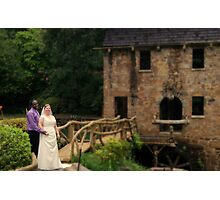 bride and groom 7 Photographic Print