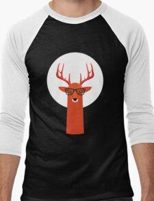 OHH DEER Men's Baseball ¾ T-Shirt