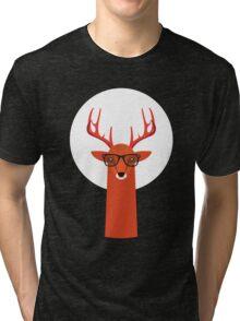 OHH DEER Tri-blend T-Shirt