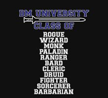 D&D DM university, dungeon master Unisex T-Shirt