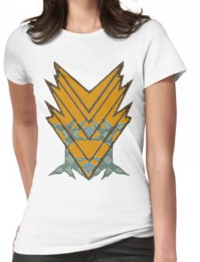 Aztec design Womens Fitted T-Shirt