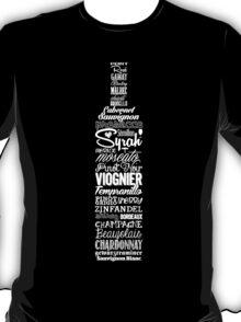 Wineography (Blaze Orange) T-Shirt