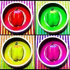 Bell Pepper Rainbow by MSRowe Art and Design