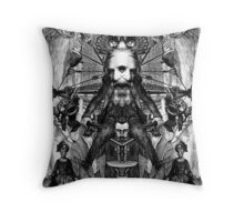 King of Poets (RD). Throw Pillow