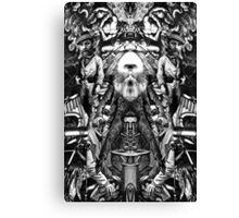 King of Poets 2 (RD). Canvas Print