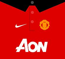 Man United Style Kit 13/14 Season by Aaron Pacey