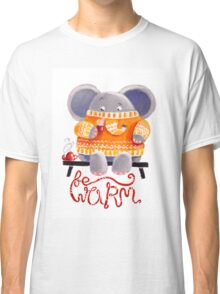 Be Warm! - Rondy the Elephant in his favorite sweater Classic T-Shirt