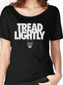 Tread Lightly (White Variant) Women's Relaxed Fit T-Shirt