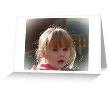 My Little Grandaughter Skye Greeting Card