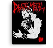 Death Metal Guttural Growl Canvas Print