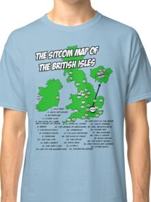 The Sitcom Map of the British Isles Classic T-Shirt