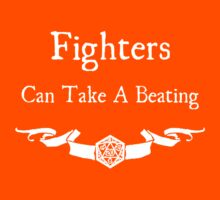 Fighters Can Take a Beating (For dark shirts) by Serenity373737