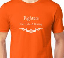 Fighters Can Take a Beating (For dark shirts) Unisex T-Shirt