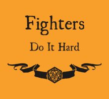 Fighers do it hard T-Shirt