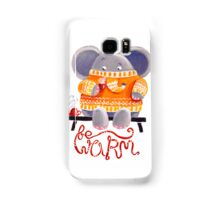 Be Warm! - Rondy the Elephant in his favorite sweater Samsung Galaxy Case/Skin