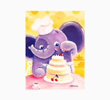 Baking - Rondy the Elephant making a delicious cake Unisex T-Shirt