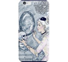 Marie Antoinette Halloween Blue iPhone Case/Skin