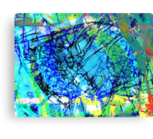 Fragmentalize Canvas Print