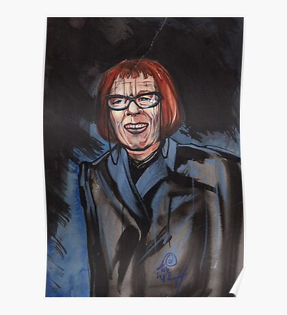 portrait of Linda Hunt Poster