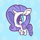 Weeny My Little Pony- Rarity by LillyKitten