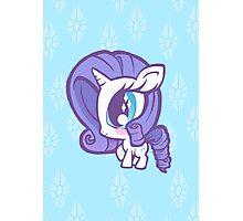 Weeny My Little Pony- Rarity Photographic Print