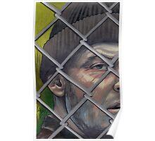nicholson portrait, mcmurphy Poster