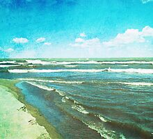 Lake Erie Whitecaps by MSRowe Art and Design