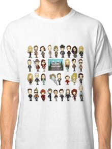 Welcome to the town of Twin Peaks, population 51,201 Classic T-Shirt