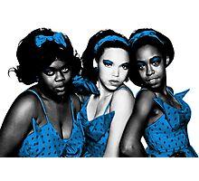 Little Shop of Horrors Chorus Musical - Spot Color Photographic Print