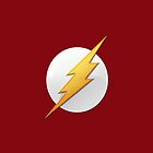 Flash Logo iPhone Case by TheTubbyLife