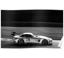 Mercedes-Benz SLS AMG GT3 Poster