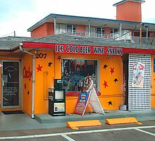 Anchor Mini Mart, Clearwater Beach by Ginny Schmidt