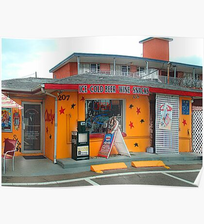 Anchor Mini Mart, Clearwater Beach Poster