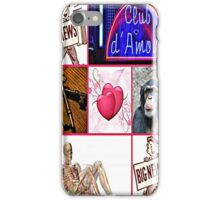 club d' amour iPhone Case/Skin