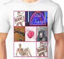 club d' amour Unisex T-Shirt
