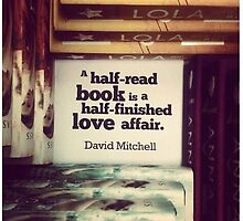 Book Quote - David Mitchell by niugnep27