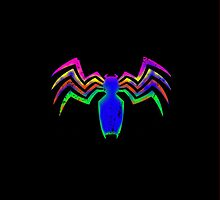 Venom Logo iPhone Case (Coloured) by TheTubbyLife