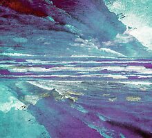 Mirrored Sea by MSRowe Art and Design