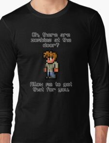 Guide Likes Zombies Long Sleeve T-Shirt