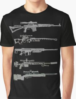 Sniper Rifles Graphic T-Shirt