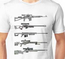 Sniper Rifles Unisex T-Shirt