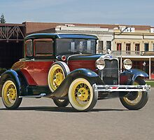 1930 Ford Model A 'Rumble Seat' Coupe by DaveKoontz