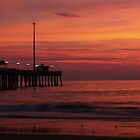 Pier at Sunrise by Clint Fern